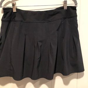 Athleta black skirt XL